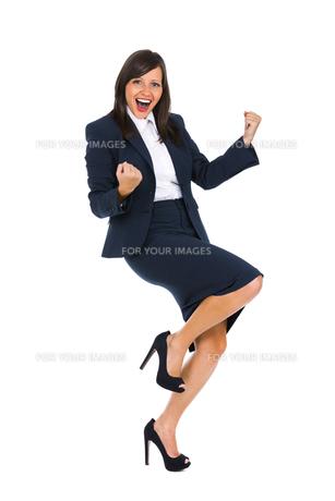 Excited Businesswoman,Excited Businesswoman,Excited Businesswoman,Excited Businesswomanの写真素材 [FYI00773767]