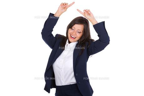 Excited Businesswoman,Excited Businesswoman,Excited Businesswoman,Excited Businesswomanの写真素材 [FYI00773771]