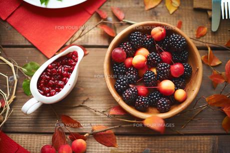 Autumn sweetsの写真素材 [FYI00774087]