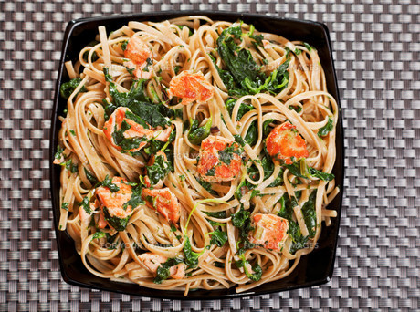 Pasta Collection - Fettuccine with salmon and spinach,Pasta Collection - Fettuccine with salmon and spinach,Pasta Collection - Fettuccine with salmon and spinach,Pasta Collection - Fettuccine with salmon and spinachの素材 [FYI00774206]