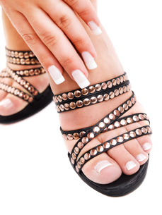 Manicure and pedicureの写真素材 [FYI00774210]
