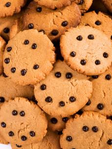 Homemade cocoa cookies,Homemade cocoa cookies,Homemade cocoa cookies,Homemade cocoa cookiesの写真素材 [FYI00774244]