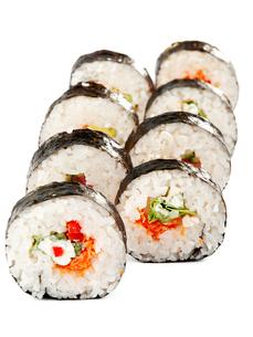 Maki Sushi,Maki Sushi,Maki Sushi,Maki Sushiの写真素材 [FYI00774257]