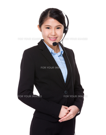 Customer services officerの写真素材 [FYI00774299]