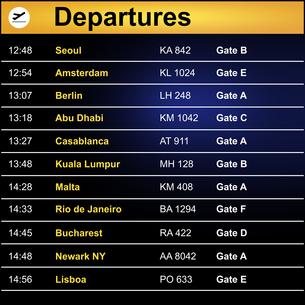 flight_trafficの素材 [FYI00774314]