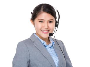Customer service assistantの写真素材 [FYI00774336]