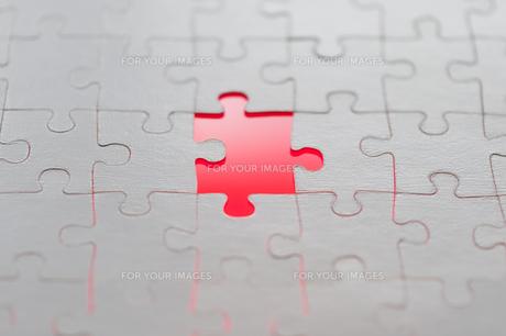 missing puzzle pieceの素材 [FYI00774361]