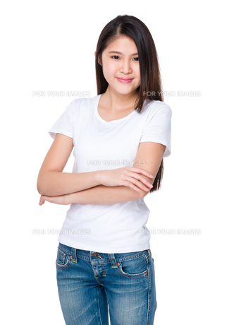 Young asia womanの写真素材 [FYI00774362]