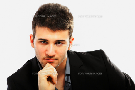 Young businessman portraitの写真素材 [FYI00774533]