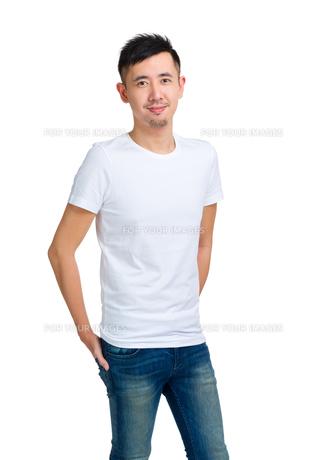 Man portraitの写真素材 [FYI00774539]