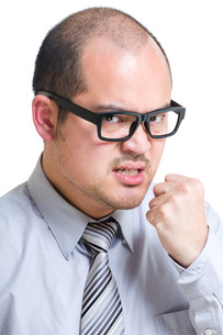 Angry businessmanの写真素材 [FYI00774556]
