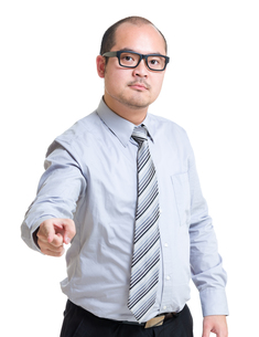 Boss scold at youの写真素材 [FYI00774577]