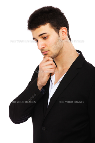 Young businessman portraitの写真素材 [FYI00774580]