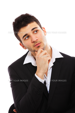 Young businessman portraitの写真素材 [FYI00774581]