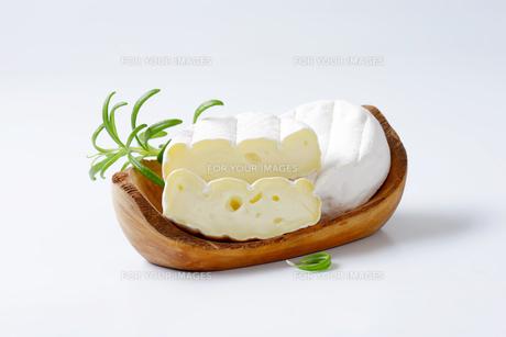 soft-ripened cheeseの写真素材 [FYI00774830]