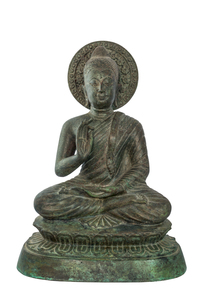 Buddha statues bless.の写真素材 [FYI00775083]