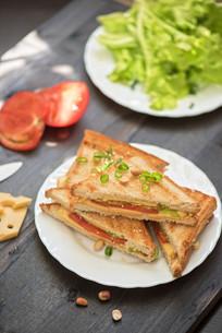 Cheese sandwichの写真素材 [FYI00775094]