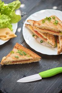 Cheese sandwichの写真素材 [FYI00775110]