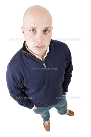 man full bodyの写真素材 [FYI00775152]
