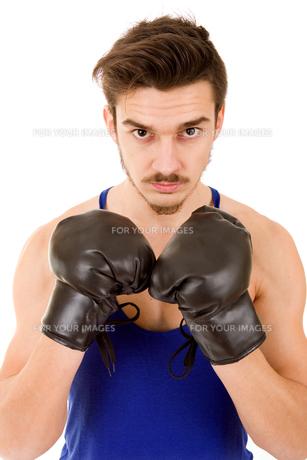 man boxerの写真素材 [FYI00775153]