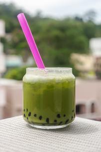 Green tea, Famous drinkの写真素材 [FYI00775232]
