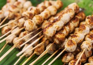 Grill pork boll sticksの写真素材 [FYI00775249]