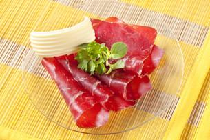 Dry cured hamの写真素材 [FYI00775409]