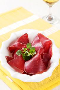 Dry cured hamの写真素材 [FYI00775419]