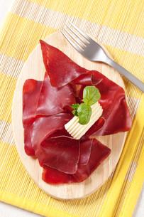 Dry cured hamの写真素材 [FYI00775424]