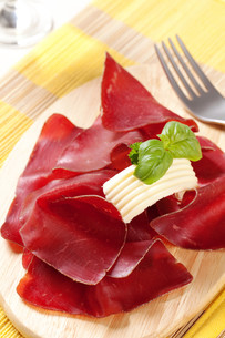 Dry cured hamの写真素材 [FYI00775533]