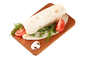 Wrap sandwichの写真素材 [FYI00775540]