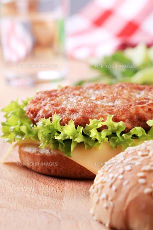 Cheeseburgerの素材 [FYI00775548]
