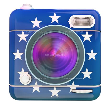 Camera icon Europeの写真素材 [FYI00775635]