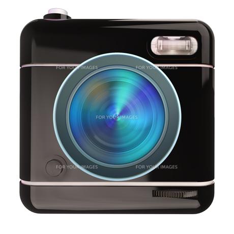Camera icon blackの写真素材 [FYI00775636]