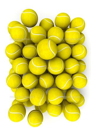 Tennis ballsの写真素材 [FYI00775652]