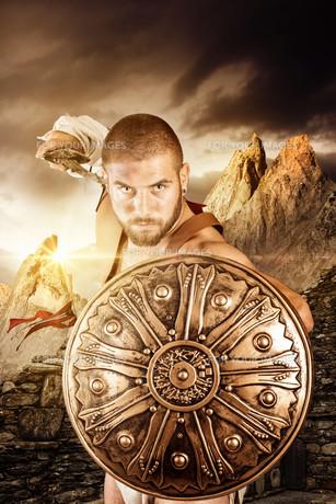 Gladiator warriorの写真素材 [FYI00775732]