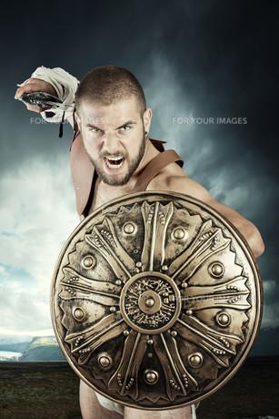 Gladiator warriorの写真素材 [FYI00775742]