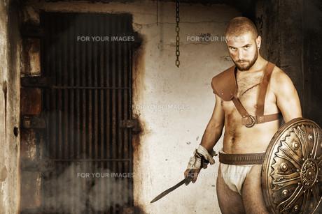 Gladiatorの写真素材 [FYI00775747]