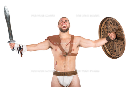Gladiatorの写真素材 [FYI00775774]