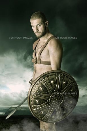 Gladiator warriorの写真素材 [FYI00775775]