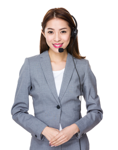 Customer services agentの写真素材 [FYI00777160]