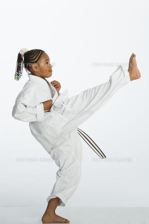 Karate Kick!の写真素材 [FYI00777393]