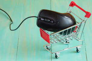 E-commerce, Store, Internetの写真素材 [FYI00777836]