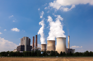 Nuclear Power Stationの写真素材 [FYI00778030]