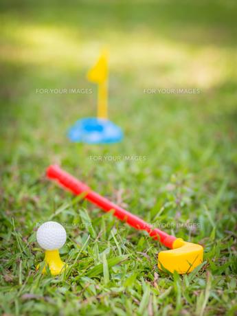 Toy golfの写真素材 [FYI00778040]