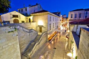 Historic stone street of Zadarの写真素材 [FYI00778240]