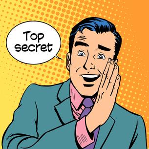 Top secret security businessの写真素材 [FYI00778287]