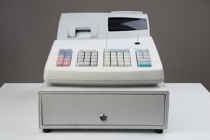 Cash Register Moneyboxの写真素材 [FYI00778484]