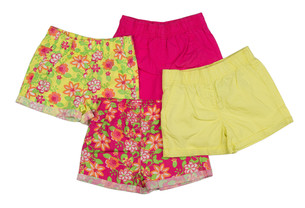 Collage of shorts clothingの写真素材 [FYI00778880]