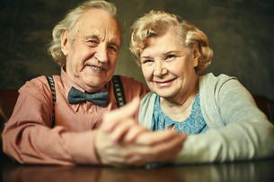 Affectionate seniorsの写真素材 [FYI00779612]